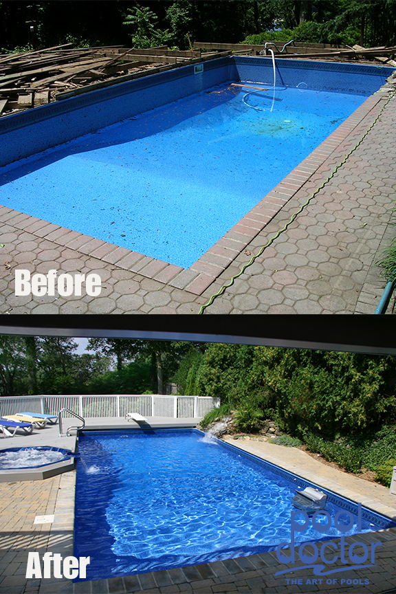 Before And After Pool Doctor