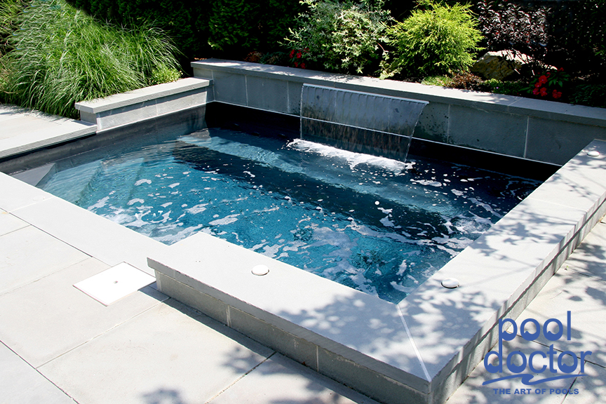 Custom spas pool doctor for Custom pool and spa