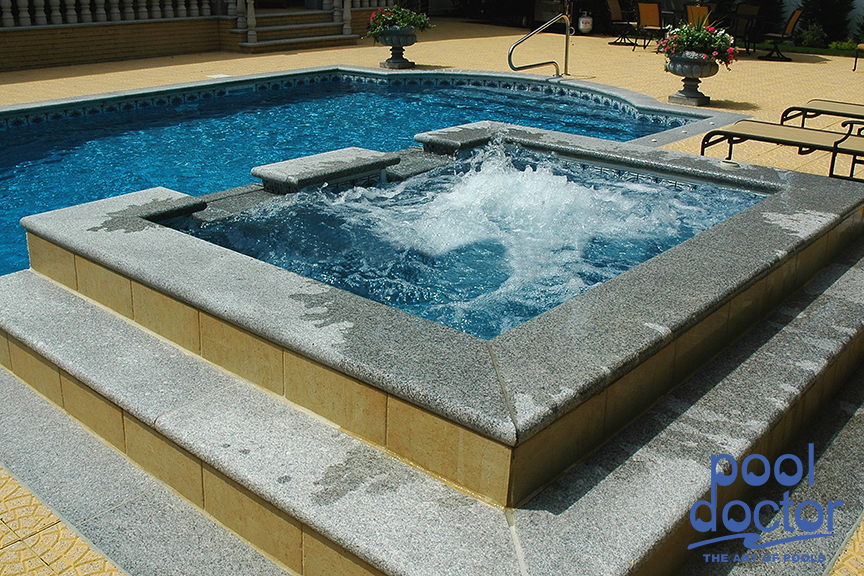 Let Your Tension Slip Away While Luxuriating In Your Own Custom Built Spa  By Pool Doctor. Check Out The Following Images Of Our Custom Outdoor Spas.