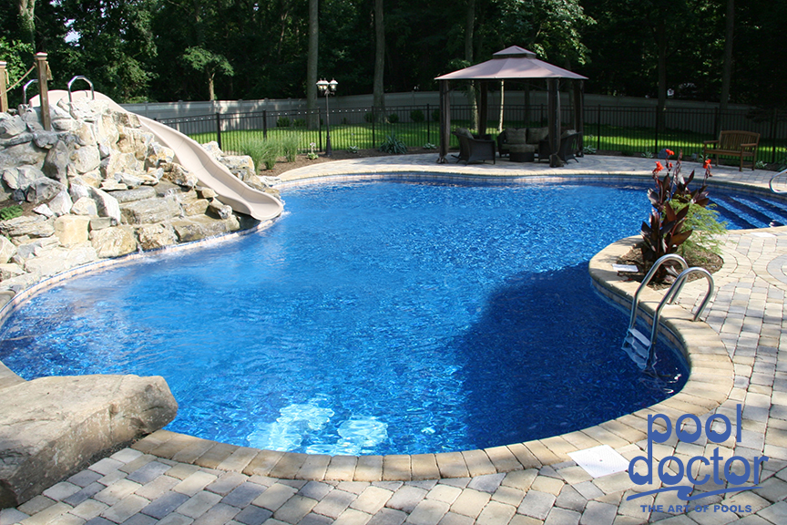 Freeform pools pool doctor for Pool design names